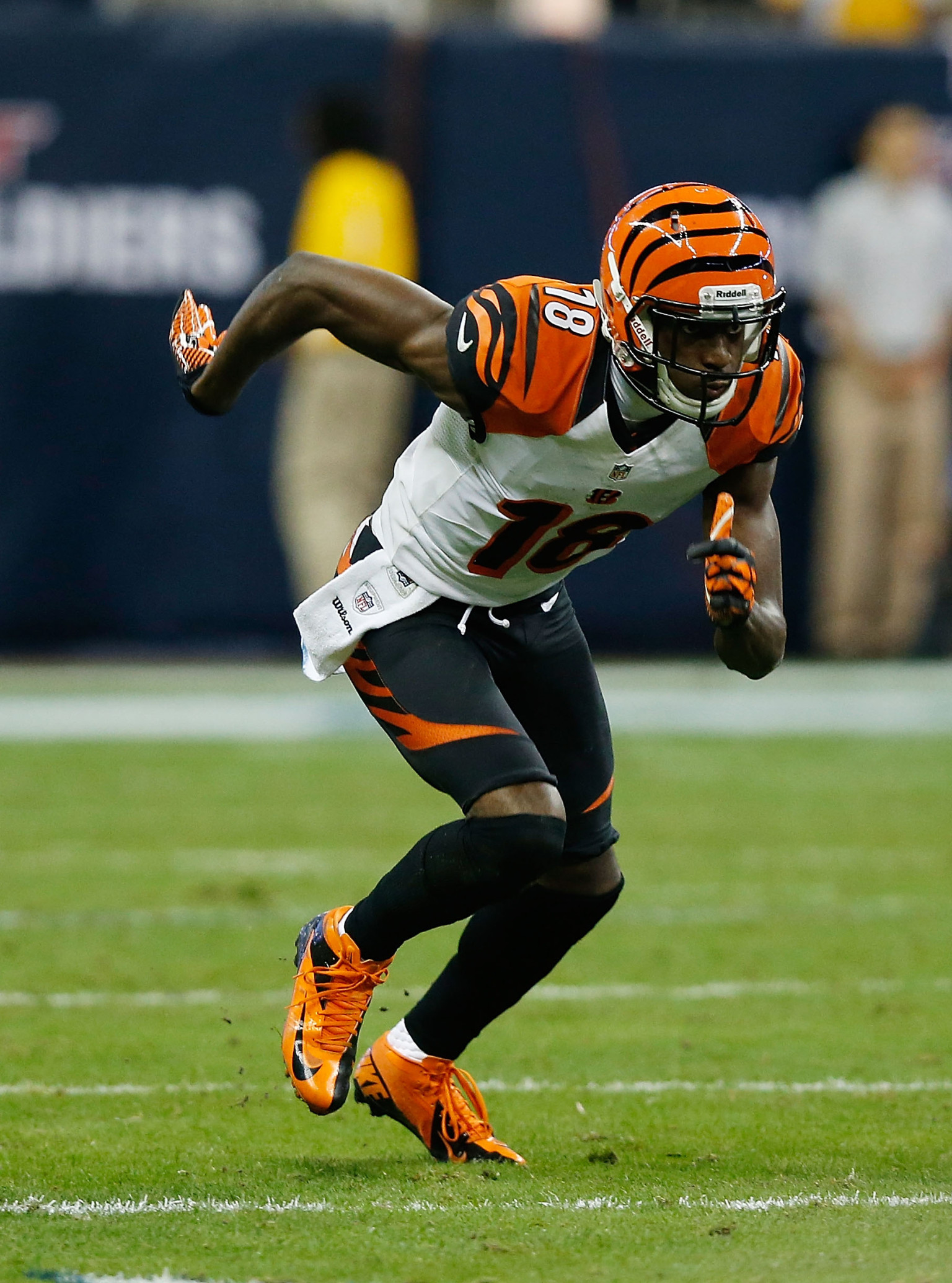 AJ Green Injury Bengals Wide Out Has Bruised Knee
