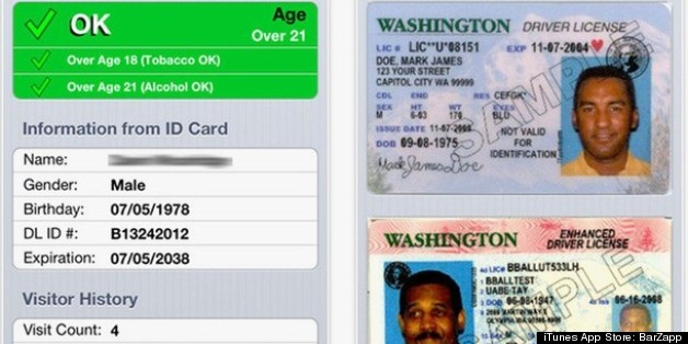Real Rhode Island Driver S License Back