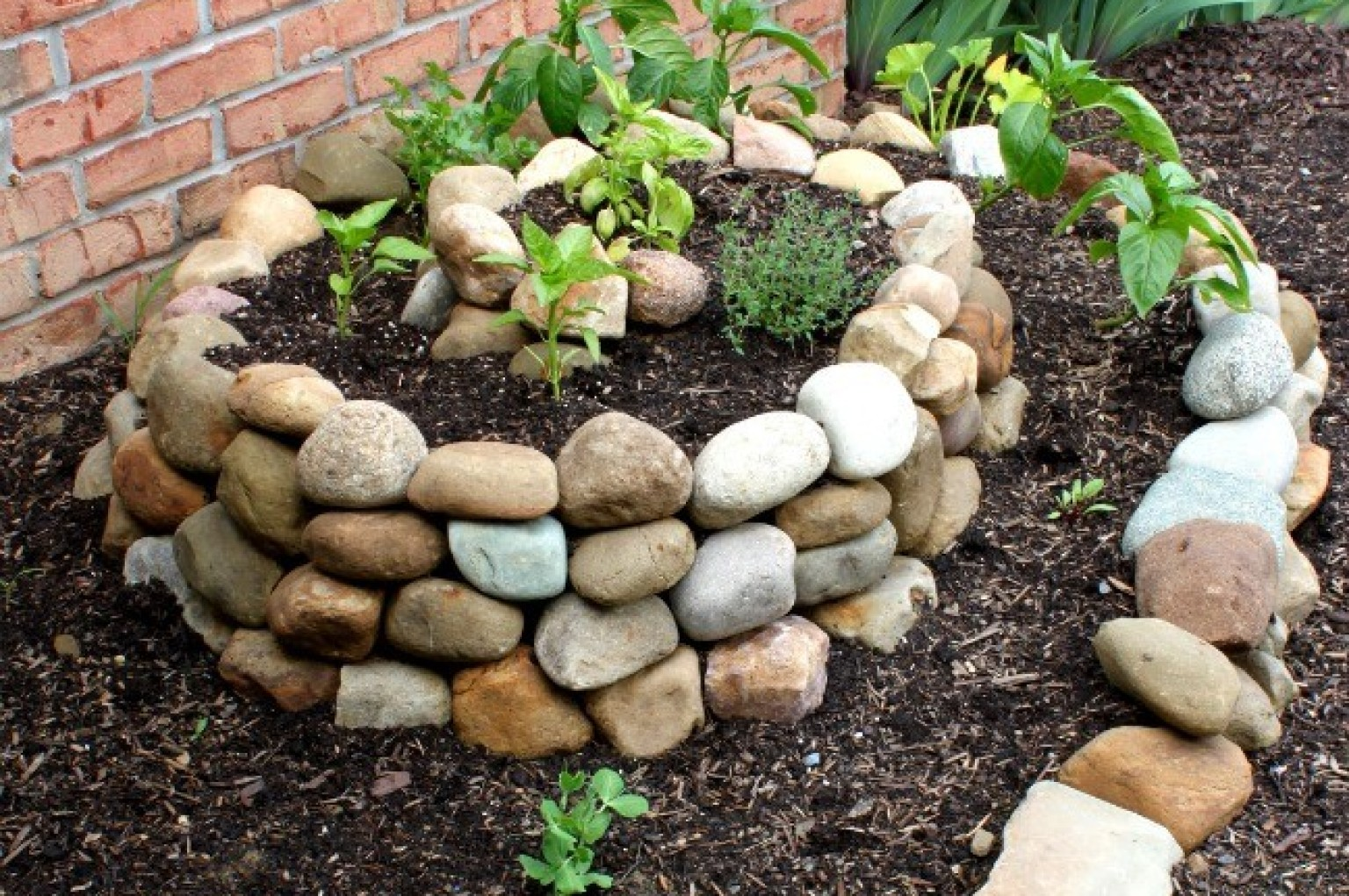 spiral vegetable garden will completely change your mind about gardening photo huffpost - Diy Vegetable Garden Ideas