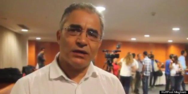 Mohsen Marzouk à la conférence de presse