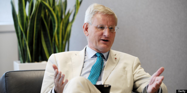 Swedish Minister for Foreign Affairs Carl Bildt