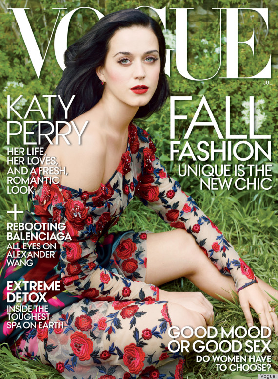 katy perry vogue diet