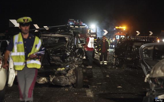 italy crash