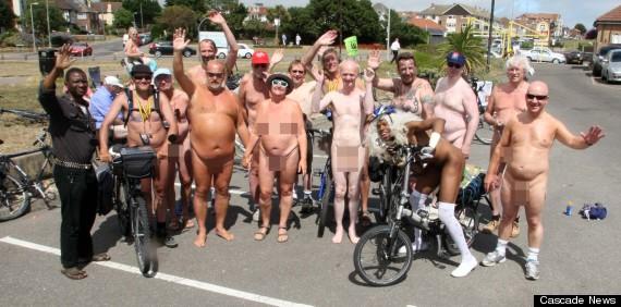 clacton naked bike ride