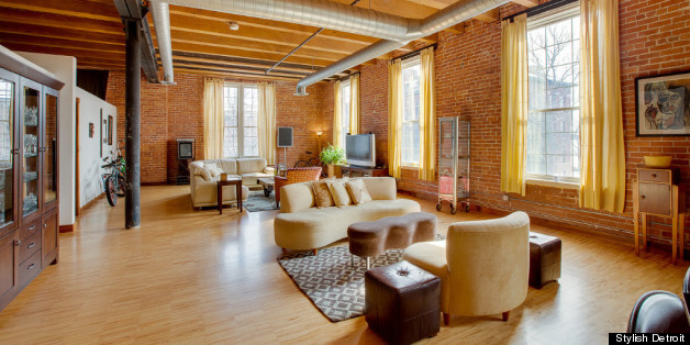 Detroit Lofts Range From Stunningly Luxurious To