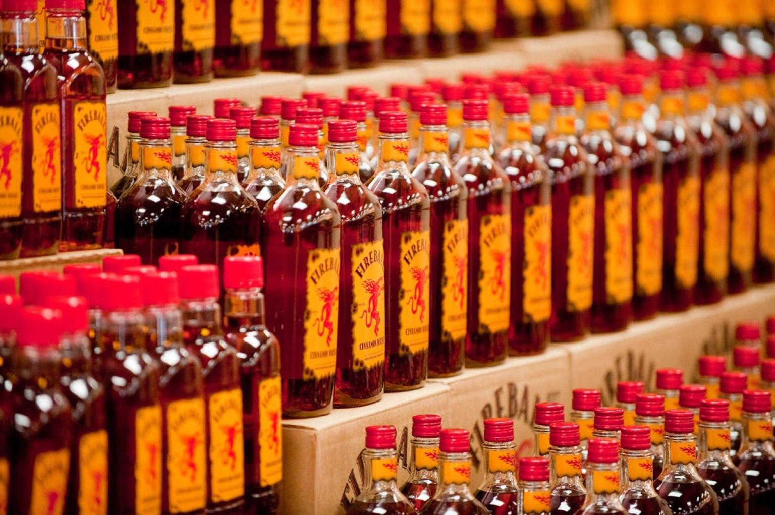 Fireball Cinnamon Whisky Is The Most Popular Liquor Brand