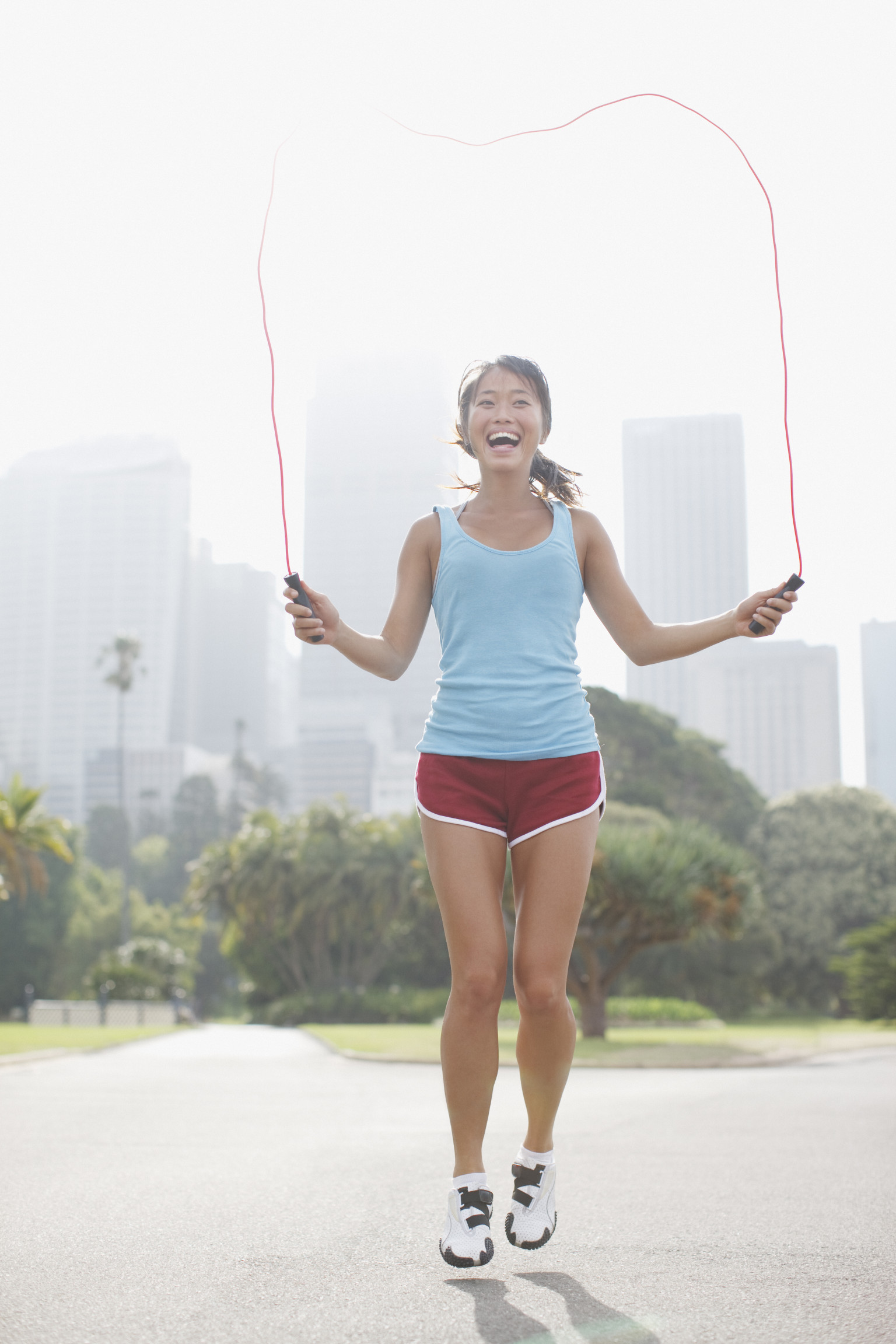 10-Minute Workout Torch Calories Jumping Rope Video -4309