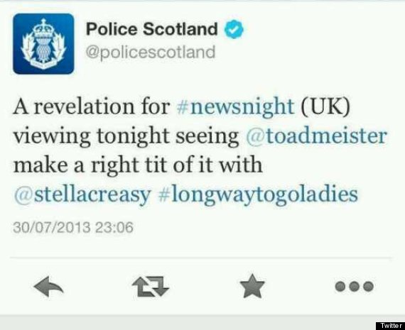 toby young police scotland