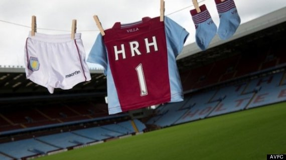 aston villa royal baby