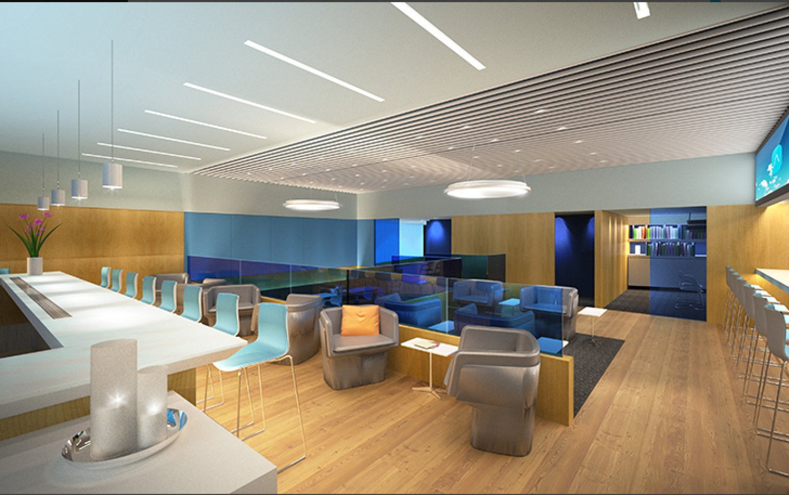 airspace lounge opens at jfk airport s jetblue terminal huffpost