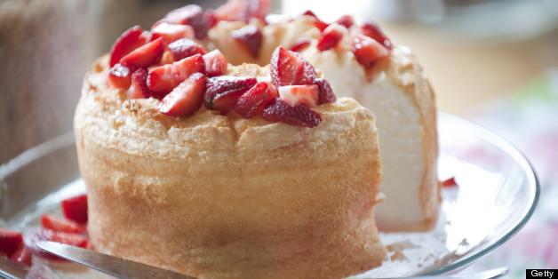 Adding Strawberries To Coconut Flour Cake