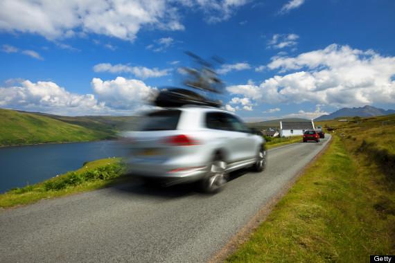 scottish islands roads