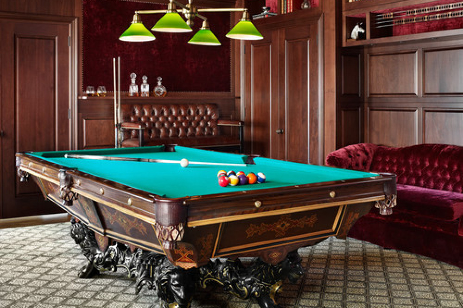 15 Homes With Amazing Pool Tables That Are Anything But An Eyesore ...