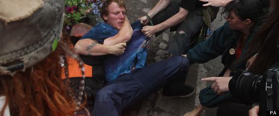 fracking arrest