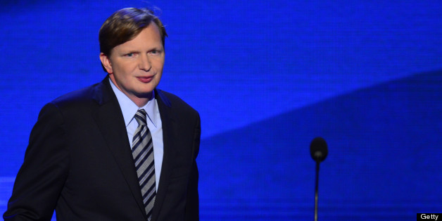 Jim Messina, campaign manager for Obama for America speaks at the 2012 Democratic National Convention in Times Warner Cable Arena Thursday, September 6, 2012 in Charlotte, North Carolina. (Harry E. Walker/MCT via Getty Images)