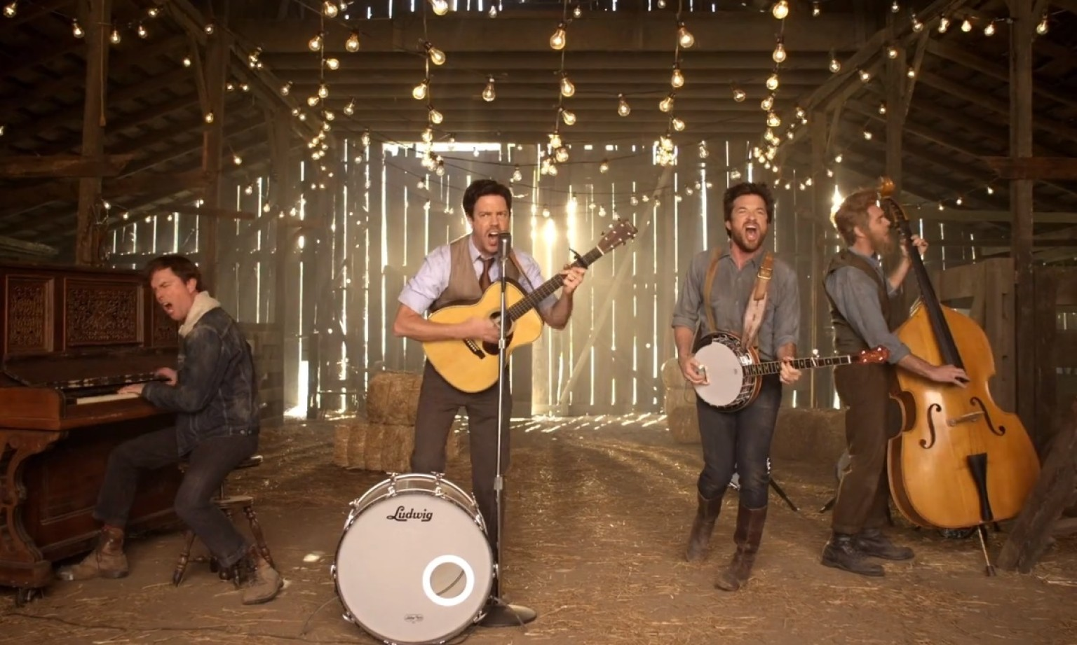 Mumford & Sons perform at the GEXA Energy Pavilion ...