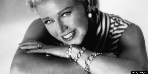 American actress, dancer, and singer Ginger Rogers