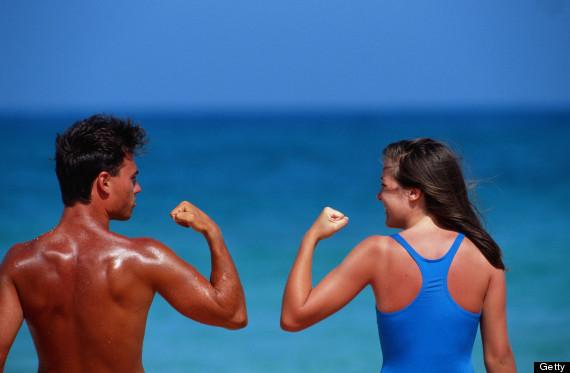 men sweat more than women