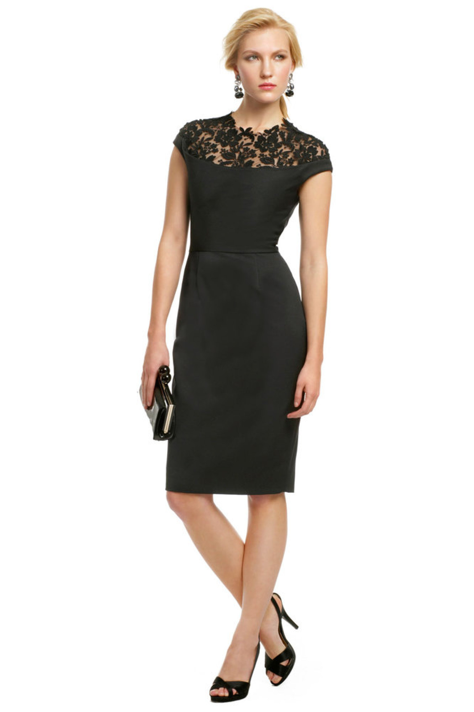 Little black dresses for bridesmaids yes please huffpost for Black dresses to wear to a wedding