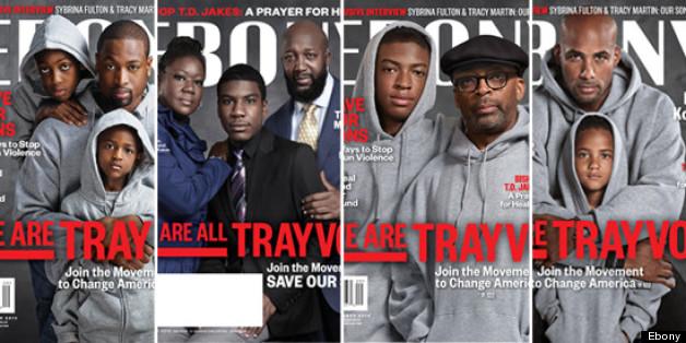 Ebony 'Trayvon' Covers: The Martins, Spike Lee, Boris ...  Ebony 'Tray...