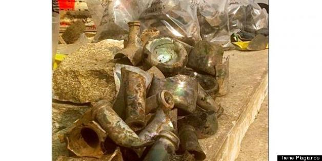 18th-Century Liquor Bottles Found Underneath Fulton Street In Manhattan