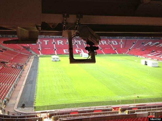 old trafford goal line technology