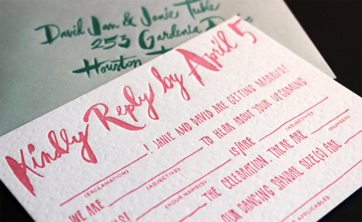 9 Creative Mad Libs Wedding Ideas | HuffPost