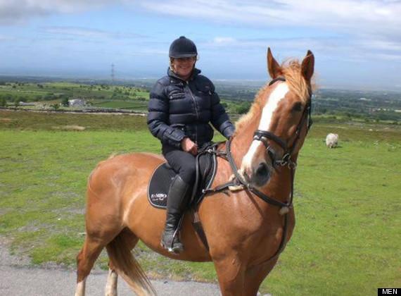 horse beaten to death