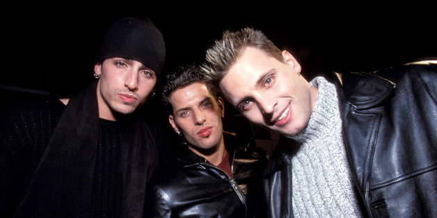 LFO at the Macy's in New York, New York (Photo by Kevin Mazur/WireImage)