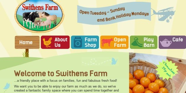 The website of Swithens FARM