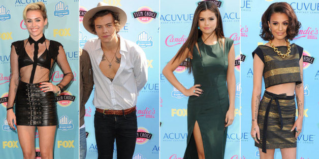 Teen Choice Awards red carpet
