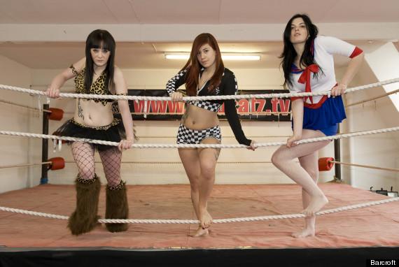 Japanese girl wrestling sex