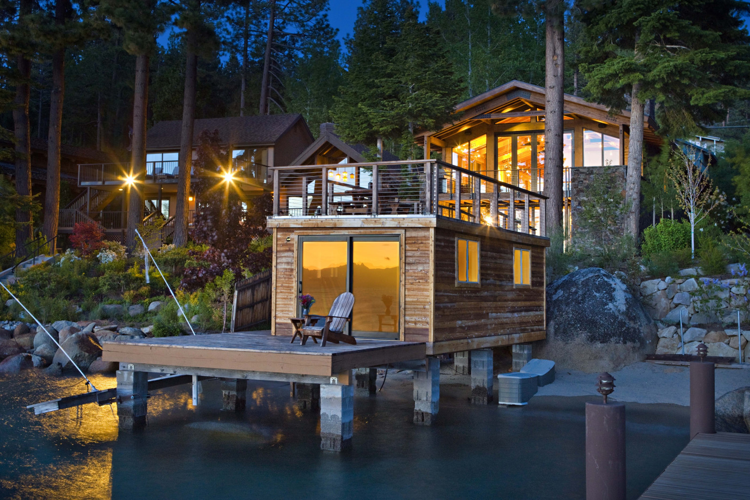 Stunning Glenbrook, Nevada Home Has A Pier, Boathouse And An Amazing View  Of Lake Tahoe (PHOTOS) | HuffPost