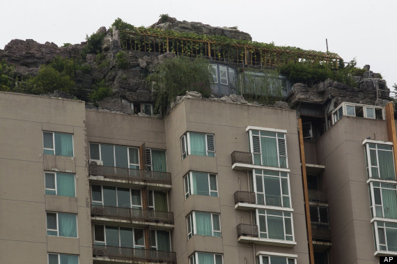 beijing illegal rooftop house