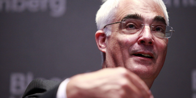 Alistair Darling, former U.K. chancellor of the exchequer, gestures during the Sovereign Debt Briefing conference in London, U.K., on Thursday, June 24, 2010.The euro-region will expand by 1.1 percent this year and 1.5 percent in 2011, after falling 4.1 percent last year, median forecasts show. Photographer: Jason Alden/Bloomberg via Getty Images