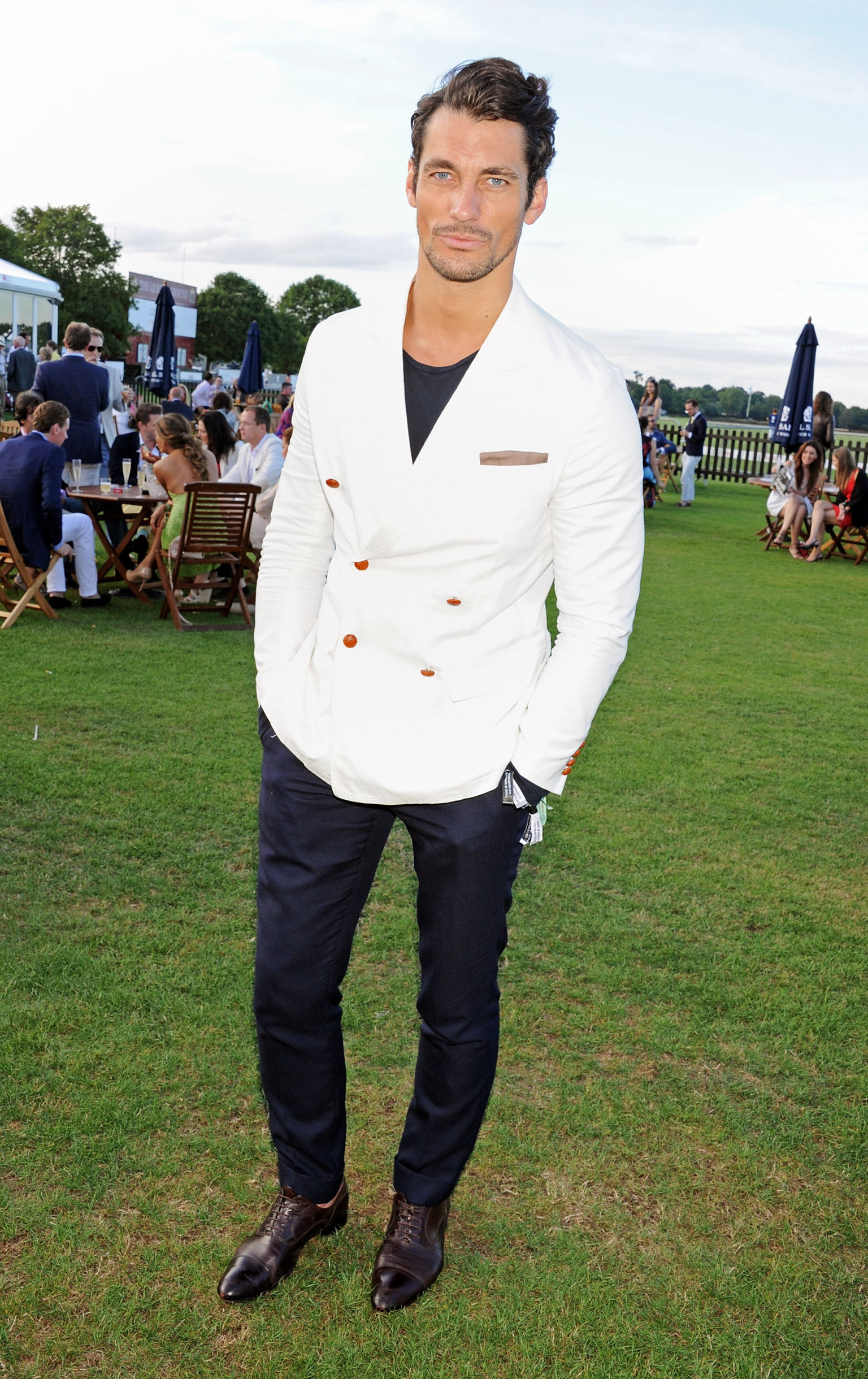 20 Of The Best Colors To Pair With Black Or White: David Gandy For Wheyhey Ice Cream Is The Perfect
