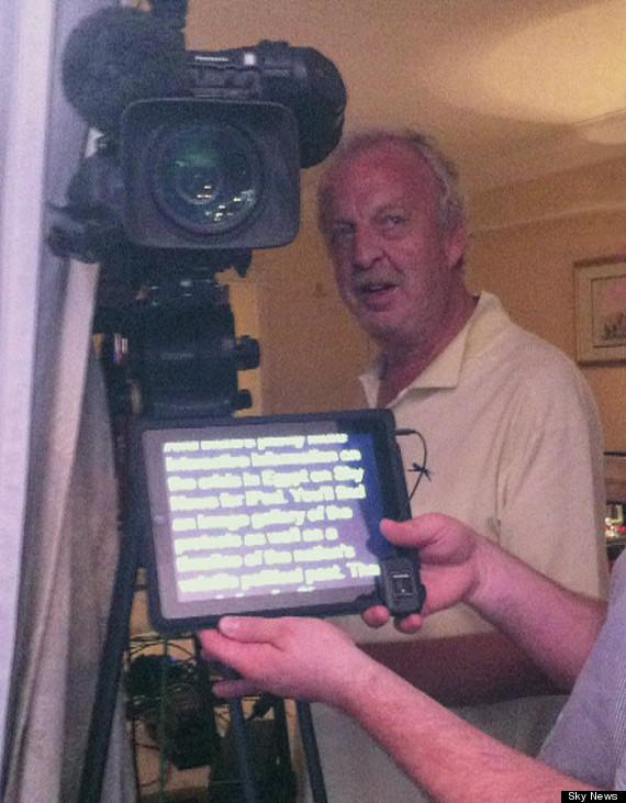 mick deane sky news cameraman