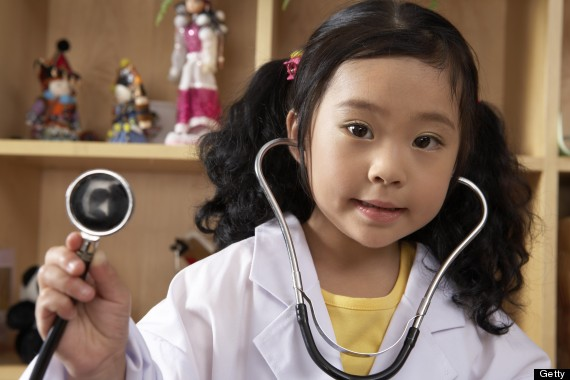 kid doctor costume