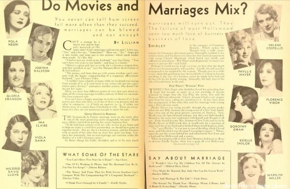 movies and marriage