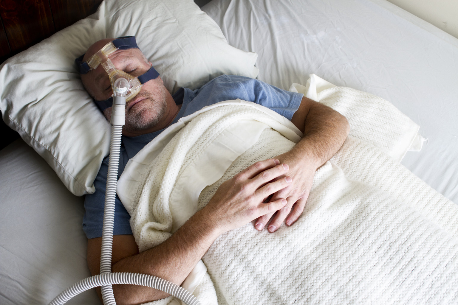 For People With Sleep Apnea And Copd Receiving Cpap Could