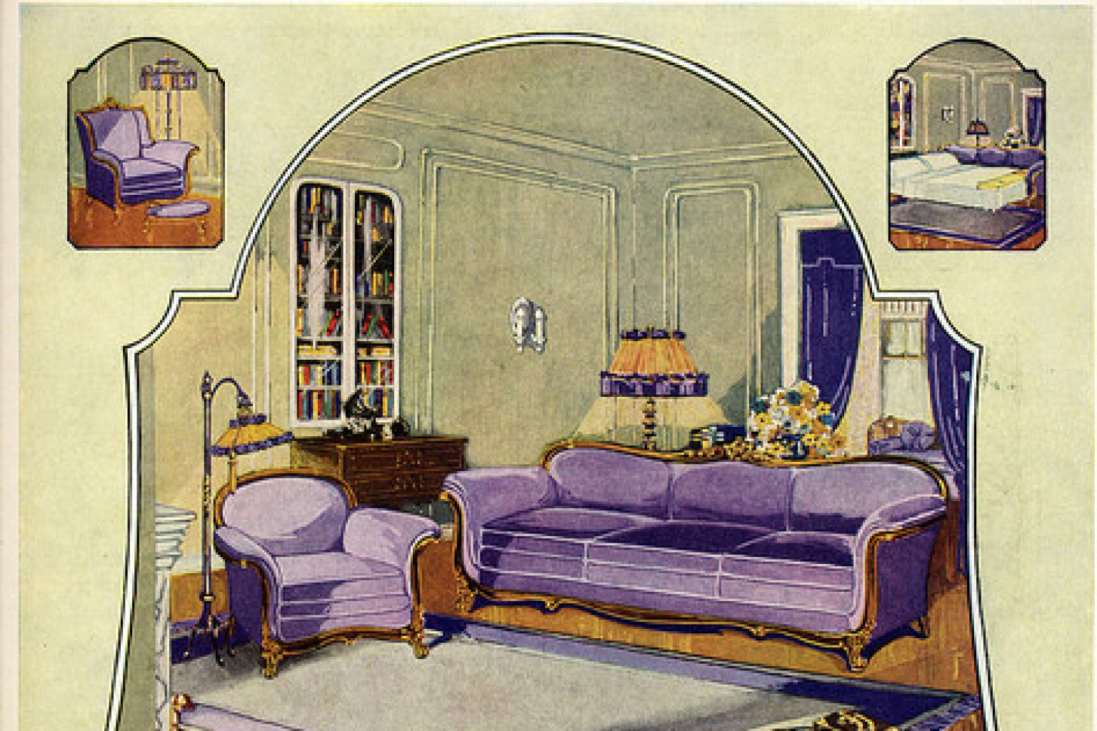 Superieur 1924 Pullman Couch Company Ad Oversells Sofa Beds, Which Were Around Back  Then (PHOTO) | HuffPost