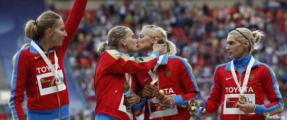 baiser russe