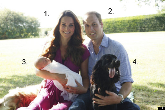 royal baby four points