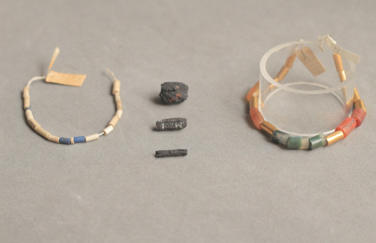 jewelry from space ancient egyptian beads were made from