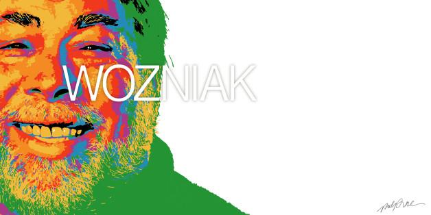 Steve Wozniak. Image réalisée par Quentin Aldhui www.pulpplayground.com