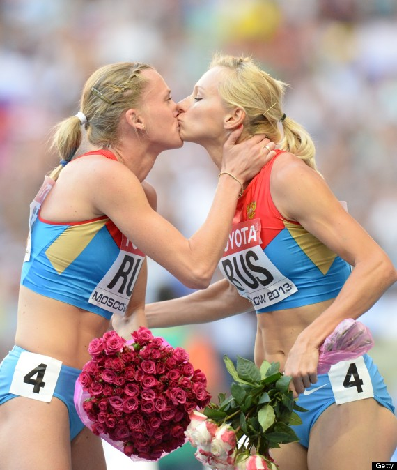 russia kiss moscow