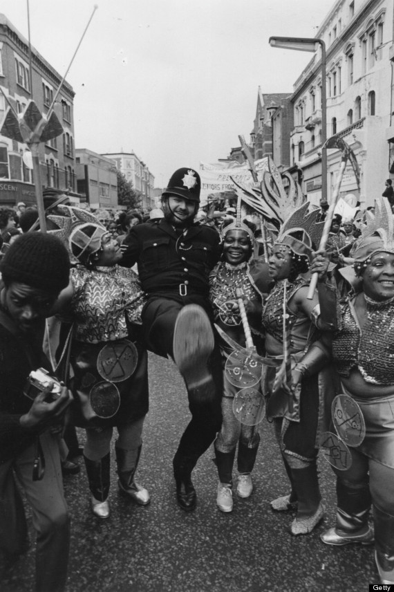 dancing policemen