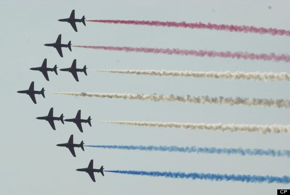 the canadian international air show