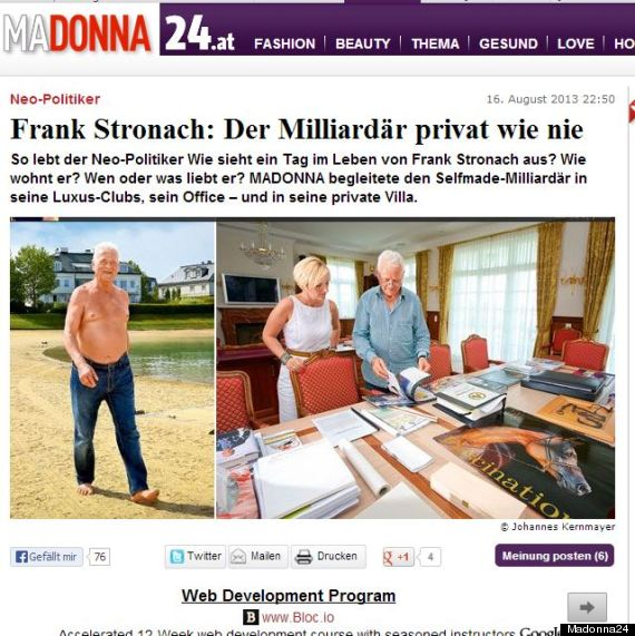 frank stronach topless