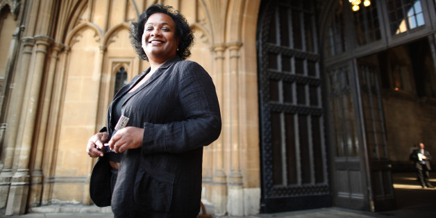 LONDON, ENGLAND - JUNE 28:  Labour Party leadership candidate Diane Abbott poses for a portrait at the entrance to The Great Hall, Parliament on June 28, 2010 in London, England. Ed Balls, David Miliband, Ed Miliband, Diane Abbott and Andy Burnham are the five candidates who have won enough backing from fellow MPs to stand in the Labour leadership election.  (Photo by Peter Macdiarmid/Getty Images)